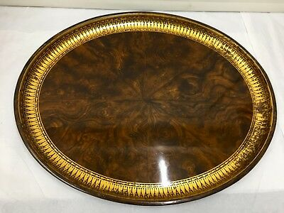 Antique Japanned Tea Tray circa 1825