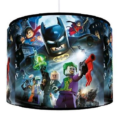 "LEGO BATMAN LIGHT SHADE 11""  KIDS ROOM matches duvet set GAMING  FREE P&P"