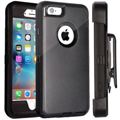For iPhone SE 5 5S Case ShockProof Impact Cover Belt Clip Fits Otterbox Defender