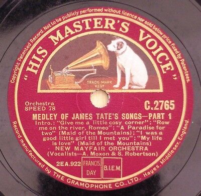 New Mayfair Orchestra - James Tate's Songs