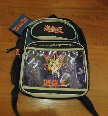 Vintage 90s Yu-Gi-Oh Backpack And Wallet Never Used