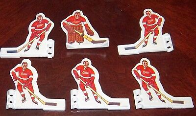 Coleco Hockey Detroit Red Wings 1972 Team DRW 2  Table top hockey games