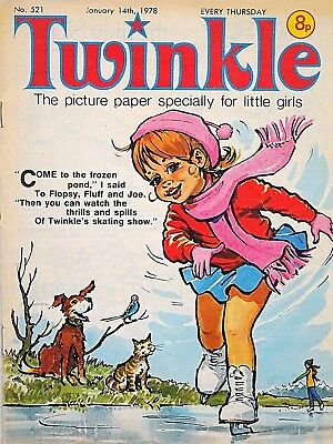 TWINKLE - 14th JANUARY 1978 (12 - 18 Jan) RARE 40th BIRTHDAY GIFT !! FINE+ bunty