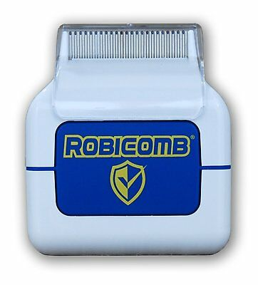 LiceGuard Robi Comb Electronic Lice Comb Head Eggs Killer Removal Detection Die