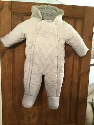 Marks And Spencer Baby Snow Suit 9-12 Months