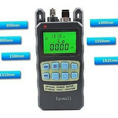 Fiber Optic Cable Tester Portable Optic Power Meter with Sc and Fc -70 to +10dbm