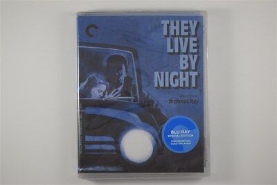 They Live by Night Criterion Blu-Ray Classic Film Noir Dir. Nicholas Ray