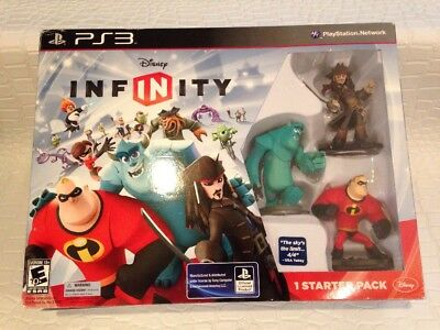 Disney Infinity Starter Pack Sony Playstation 3 PS3 Network 2013 Game Sulley Box