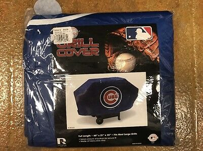 Brand New Chicago Cubs Team Logo Bbq Gas Propane Grill Cover Picclick