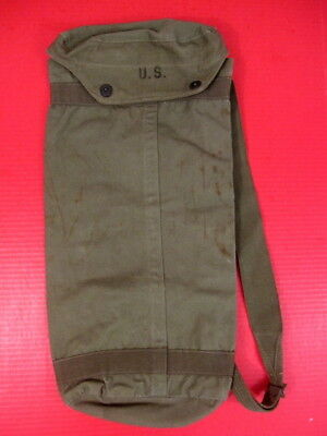 """WWII US Army M6 Rocket Carrier Bag for 2.75"""" Bazooka Rockets - Dated 1945 - XLNT"""