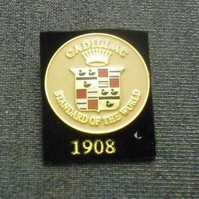1908 Cadillac Pin Crest Lapel Hat Emblem Logo From Licensed Gm Collector Set