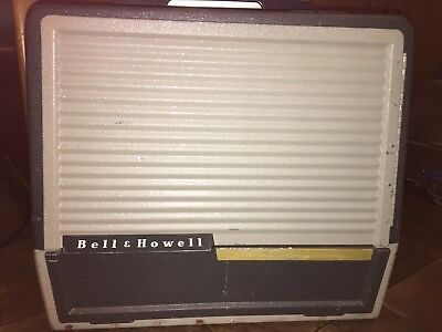 Vintage Bell & Howell Filmosound Film Projector Model 385  for Parts