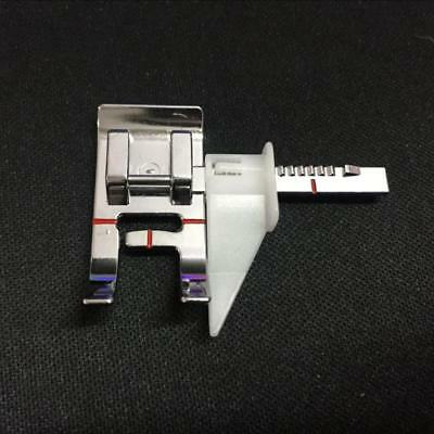 Distinctive Adjustable Guide Sewing Machine Presser Foot - Fits All Low Shank