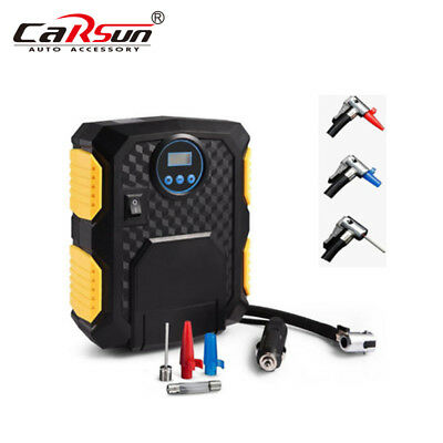 Car Air Compressor DC 12V Digital Portable Tire Inflator Auto for Car Basketball