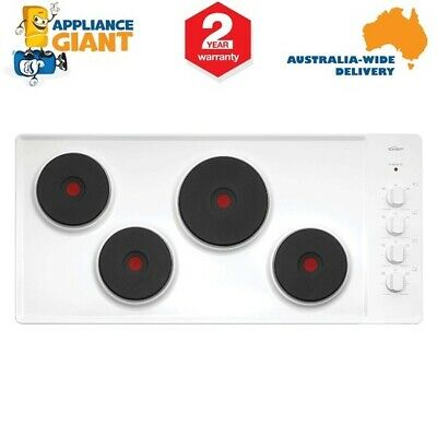 Chef CHS942WA Solid Element Electric Cooktop White Enamel - BRAND NEW