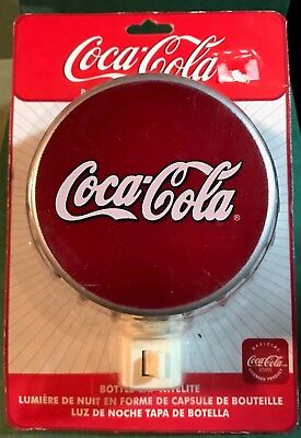 Coca Cola Bottle Cap Nitelite New in Package Free Shipping to USA Night Light