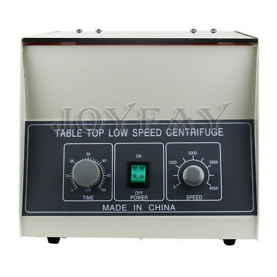 110V Electric Tabletop Lab Centrifuge 4000rpm 6*50ml LD-3