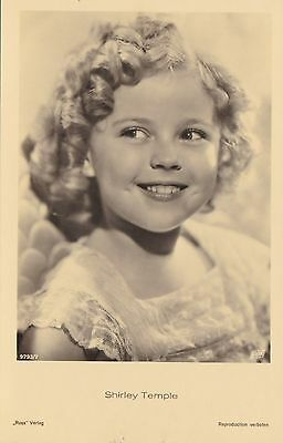 RARE! Shirley Temple Antique Vintage Original Ross Verlag Photo Postcard RPPC 5