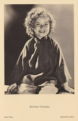 RARE! Shirley Temple Antique Vintage Original Ross Verlag Photo Postcard RPPC 6