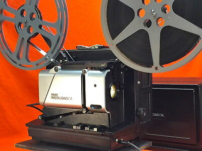 TELEX INSTALOAD / XL 16mm SOUND PROJECTOR IN EXCELLENT CONDITION-TESTED
