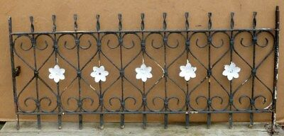 Antique Wrought Iron WINDOW GATE Guard-Architectural Salvage 43""