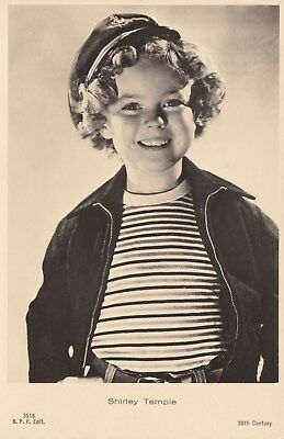 RARE! Shirley Temple Antique Vintage Original Ross Verlag Photo Postcard RPPC 12