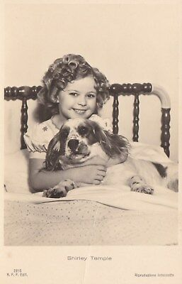 RARE! Shirley Temple Antique Vintage Original Ross Verlag Photo Postcard RPPC 14