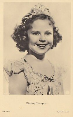 RARE! Shirley Temple Antique Vintage Original Ross Verlag Photo Postcard RPPC 23