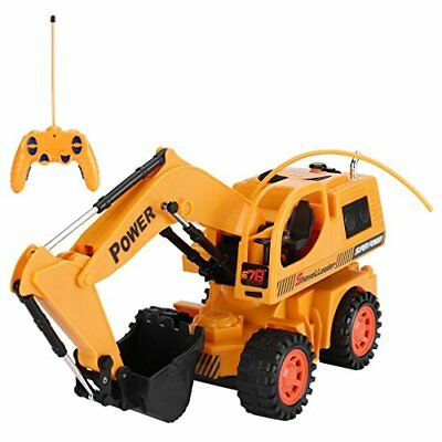 Stunt Engineering Vehicle Electric Wireless Remote Control For Kids Children New