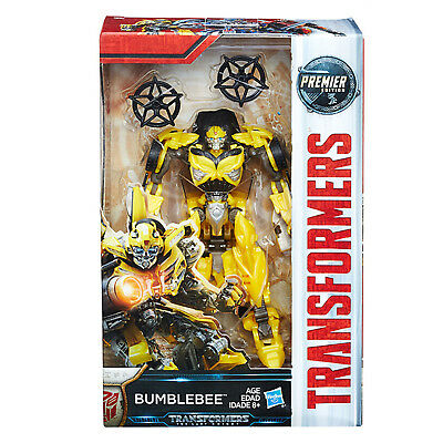 Transformers MV5 THE LAST KNIGHT Class D Deluxe Bumblebee Action Figure NEW