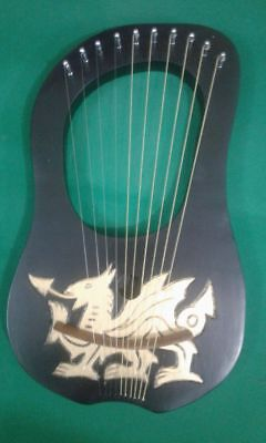 New  Lyre Harp 10 Strings with CARRYING bag and Tuning key +Strings