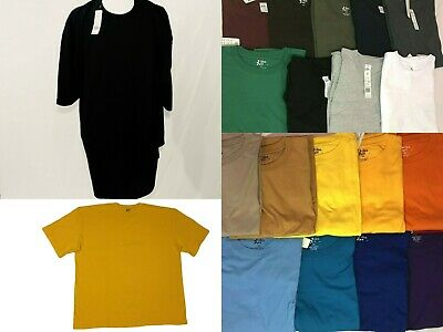 Big and Tall Tees - Crew Neck Basic T-Shirts Premium Quality 5X 6X 7X 8X 10X