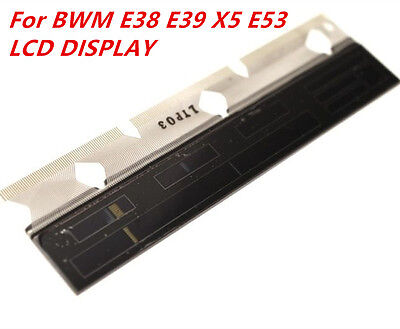 BMW Speedometer Instrument Cluster LCD Display Silver Ribbon Cable E38 E39 X5