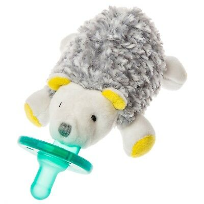Mary Meyer WubbaNub Infant Newborn Baby Soothie Pacifier ~ Sunshine Hedgehog