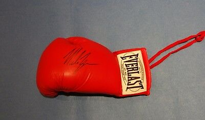 Mike Tyson Hand Signed Boxing Glove with COA