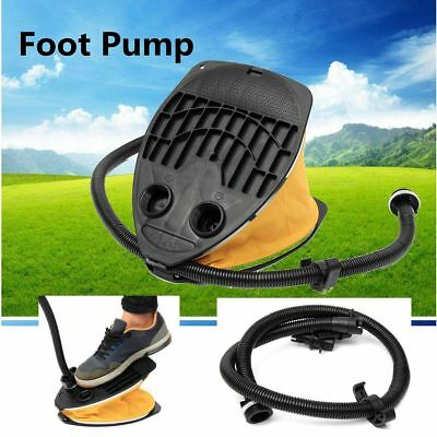 Air Step Foot Pump Inflates Deflate For Air Track Inflatable Tumbling Gym Mat