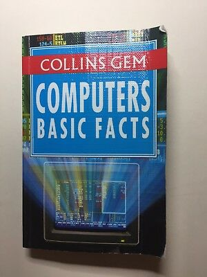"VERY RARE Collins Gem book ""Computer Basic Facts"""