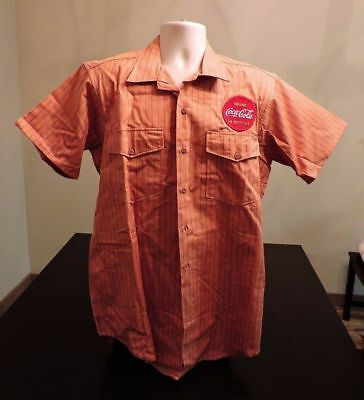 Authentic Company Issued 1950's Never Worn Coca-Cola Route Driver Uniform Shirt