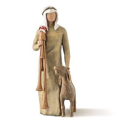 Demdaco Willow Tree nativity Collection Display ZAMPOGNARO Holiday Christmas NEW