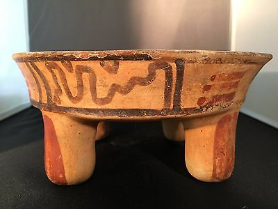 200 B.C. - 900 A.D. Mayan Quadripod with Rattles in Legs