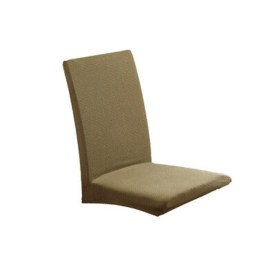 Simple Seat Covers Kitchen Bar Dining Chair Cover Hotel Wedding Decor Green