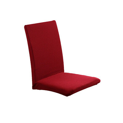 Seat Covers Kitchen Bar Dining Chair Cover Hotel Wedding Party Decor Carmine