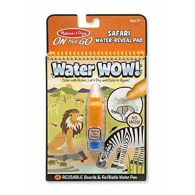 SAFARI - Melissa & Doug On The Go Water Wow! Travel Activity Book