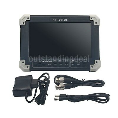 "X42TAC V5.5 7"" LCD CVBS+TVI+AHD+VGA+HDMI Camera Video Test Tester NEW version"