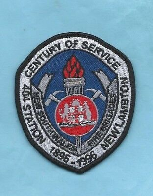 (Rare) 1866-1996 404 STATION NEW LAMBTON CENTENARY Patch (New South Wales)