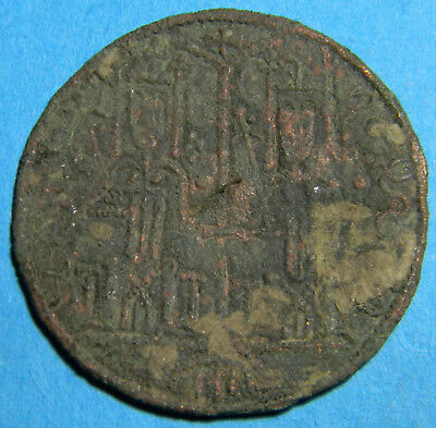 Medieval Arpad Dynasty Hungary 1172-1196 111. Bela  Cup coin (01502)