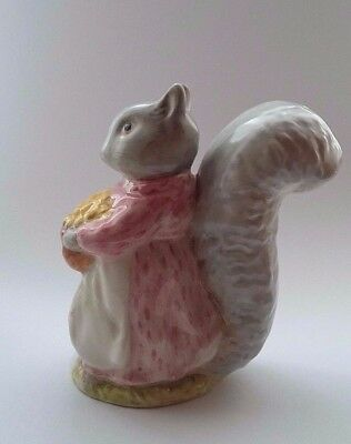 """Beswick~Beatrix Potter """" GOODY TIPTOES """" BP 2a GOLD OVAL"""
