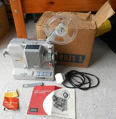 8mm Film Projector, Noris 8 Super 100, 1960's German