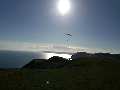 Paragliding Tandem Voucher. Air Experience Flight With Licenced Instructor
