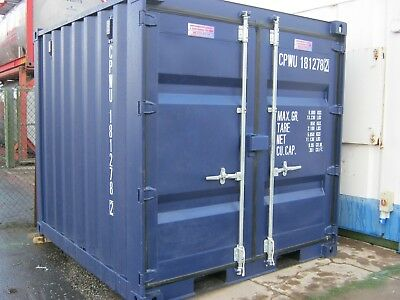 New 8ft Shipping Container FOR SALE secure site store shed scotland £1695+Vat